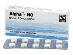 Nasal congestion, Sneezing, Stuffiness of nostrils – Alpha-NC