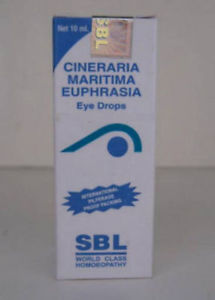 Cataract, Photophobia, Irritation In Eyes – Cineraria Maritima Euphrasia Eye Drops