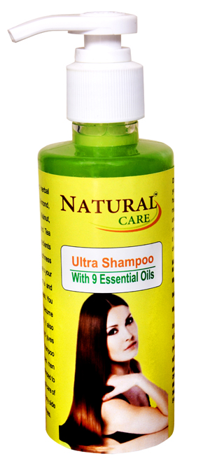 Natural Care Ultra Shampoo 100ml for Stress causes hair loss